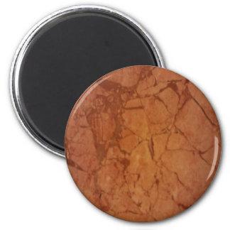 Beige Marble Refrigerator Magnets