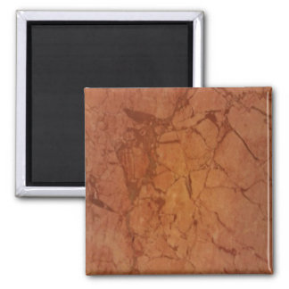 Beige Marble Square Magnet