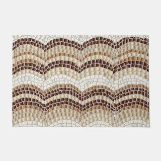 Beige Mosaic 24'' x 36'' Door Mat