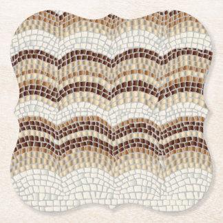 Beige Mosaic Bracket Coaster
