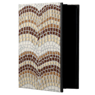 Beige Mosaic iPad Air 2 Case with No Kickstand