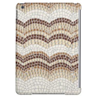 Beige Mosaic Matte iPad Air Case