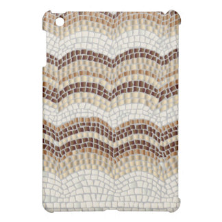 Beige Mosaic Matte iPad Mini Case