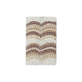 Beige Mosaic Pocket Notebook