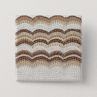 Beige Mosaic Square Button