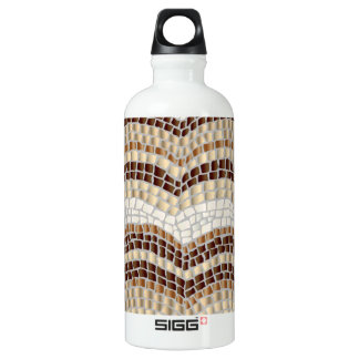 Beige Mosaic Traveller 0.6 L Water Bottle