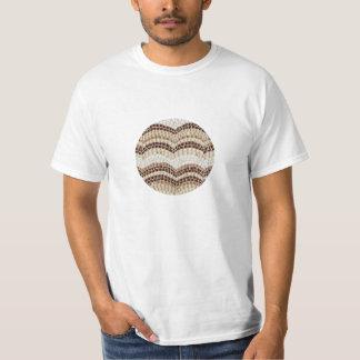 Beige Mosaic Value T-Shirt