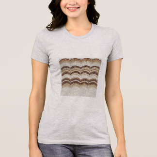 Beige Mosaic Women's Favorite Jersey T-Shirt