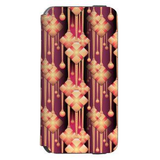 Beige Pattern Case Incipio Watson™ iPhone 6 Wallet Case