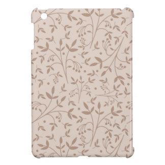 Beige pattern iPad mini cases