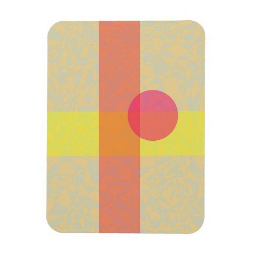 Beige Vinyl Magnets