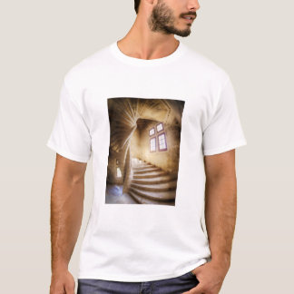 Beige spirl staircase, France T-Shirt
