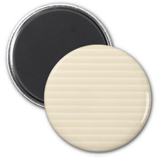 Beige Tan Color Stripe Pattern Magnets