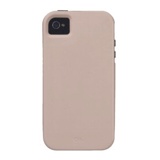Beige Tan Sandstone Color Only Case-Mate iPhone 4 Case