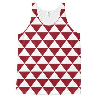 Beige Triangle Pattern