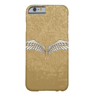 Beige wings barely there iPhone 6 case