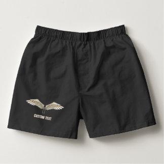 Beige wings boxers