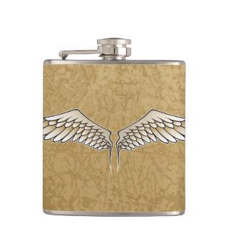 Beige wings flasks