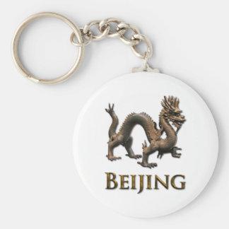 BEIJING Dragon Keychain