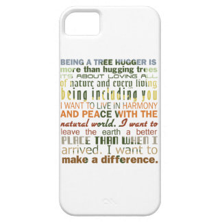 Being a Tree Hugger iPhone 5 Cover