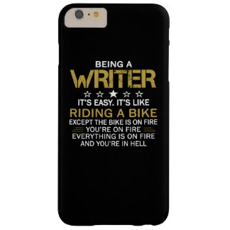 Being a Writer Barely There iPhone 6 Plus Case