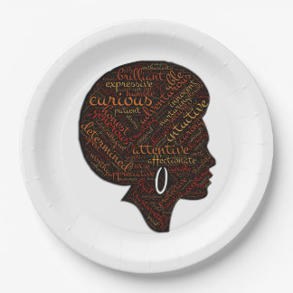 Being All BHM Party Paper Plates