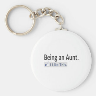 Being an Aunt I Like This Keychain