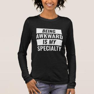 Being Awkward Long Sleeve T-Shirt