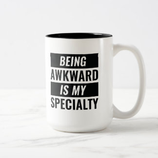 Being Awkward Two-Tone Coffee Mug