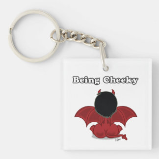 Being Cheeky Devil Key Chain