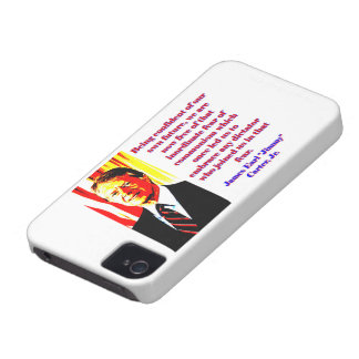 Being Confident Of Our Own Future - Jimmy Carter.j iPhone 4 Case-Mate Case