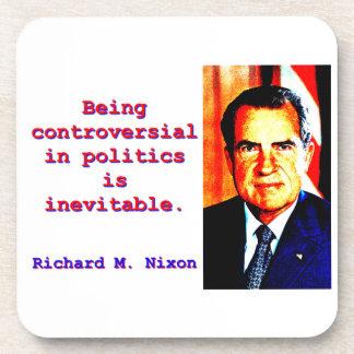 Being Controversial In Politics - Richard Nixon.jp Coaster