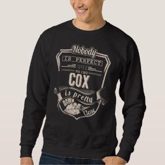 Being COX Is Pretty. Gift Birthday Sweatshirt