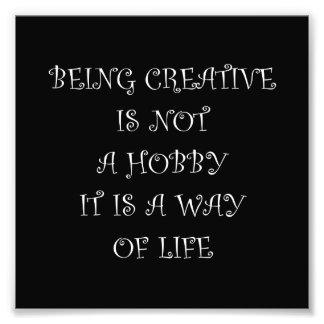 Being Creative Art Photo