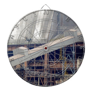 Being Destroyed Factory 1 Dartboard