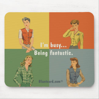 being fantastic mouse pad