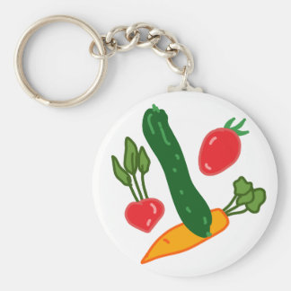 Being fresh, illustration goods FRESH and of the t Keychain