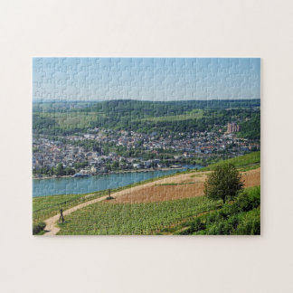 Being gene on the Rhine Jigsaw Puzzle