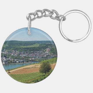 Being gene on the Rhine Keychain