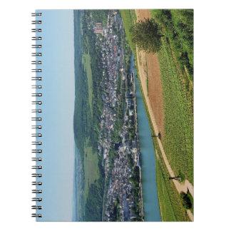 Being gene on the Rhine Notebook