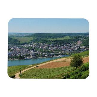 Being gene on the Rhine Rectangular Photo Magnet
