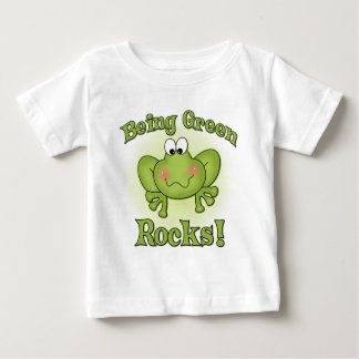 Being Green Rocks t-shirt