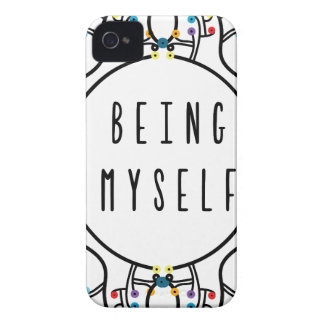 Being myself iPhone 4 Case-Mate cases