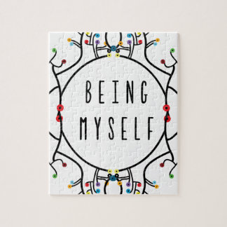Being myself jigsaw puzzle