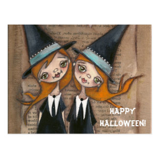 Being OUrselves - Halloween Postcard