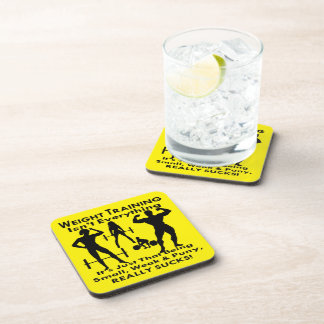 Being Small, Weak And Puny Really Sucks Coasters