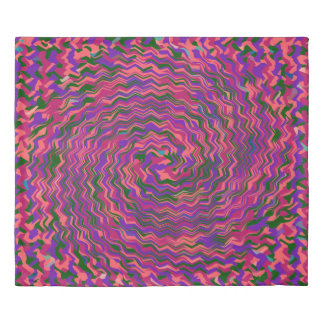 BEING SUCKED INTO A TIME AND SPACE WHIRLPOOL DUVET COVER