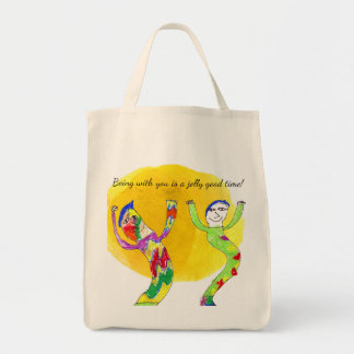Being With You Is A Jolly Good Time! Child Art Tote Bag