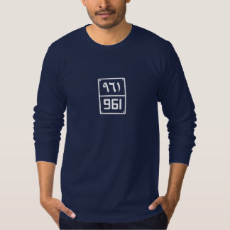 Beirut's Digit #961 Long Sleeve T-Shirt