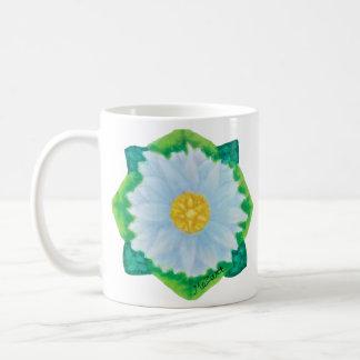 Bejeweled Daisy Coffee Mug